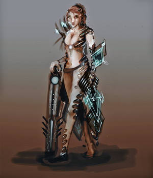 SciFi mage by Erydril