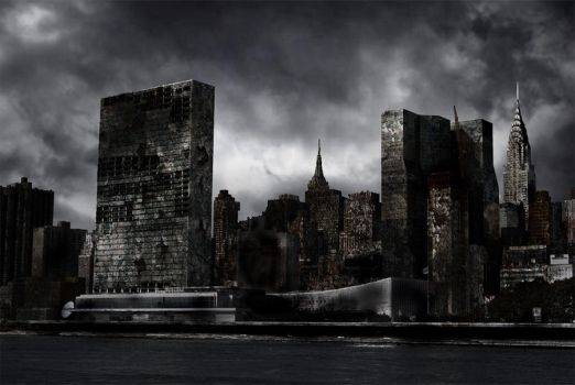 Destroyed City by Nation17