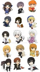 Fruits Basket Chibis by Boburto