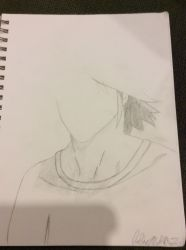 L Lawliet WIP by MidnaLinkForever