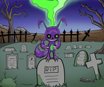 Graveyard Voodoo by dragonfire1000