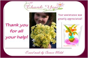 Thank You Ecard by CopperSphinx