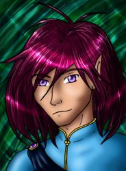 Random Shiney Elf Guy by FalluVaud