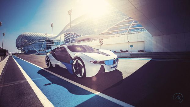 BMW Vision race track by Ankash