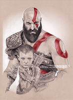 GOD OF WAR by RUIZBURGOS