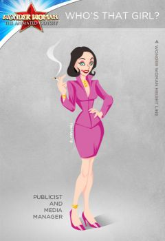Wonder Woman Cartoon Show: Who's that girl? by tremary