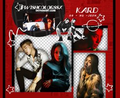 K.A.R.D PNG PACK #1 by Upwishcolorssx
