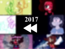 2017 Rewind! (VIDEO LINK IN THE DESCRIPTION!) by SleepyStaceyArt