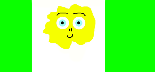 THE HEAVENLY YELLOW CLOUD MAN NOVEMBER-20-2017 by welcome1234