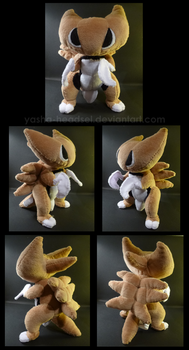 Kabutops Plush by Ashayx