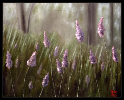 Lavender Forest by mruqe