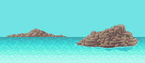 Ocean Background by Pukahuna