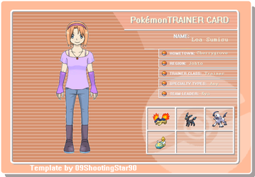 Lea's trainer licence by votederpycausemufins