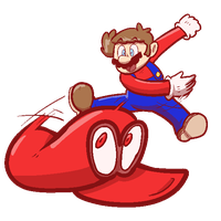 Mario Odyssey by Mister-Saturn