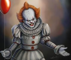 IT - Pennywise - 3 by SessaV