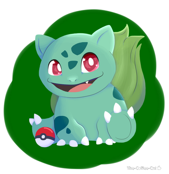 Pokemon 1: Bulbasaur by The-Coffee-Cat