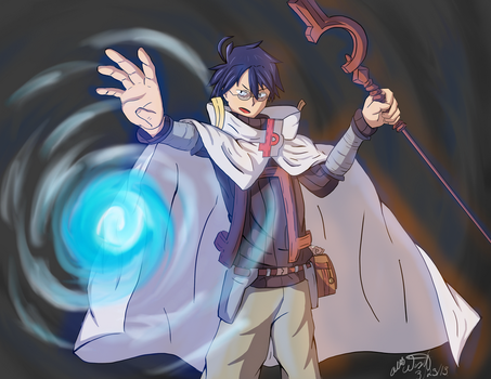 Log Horizon - Shiro by OdysseyWestra