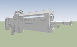 Colony Assault Rifle Model MkI by Obhan