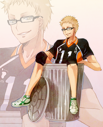 art trade cillermiller - tsukki by Fuugen