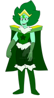 Emerald Crystal Gem by WhiteDiamond777