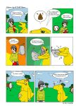 Digimon World: Toilet Humor by Axel-Comics