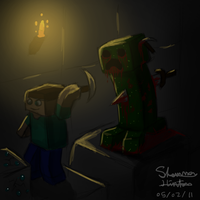 Minecraft Creepers by FreeDom-Gurl123