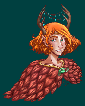 Keyleth by kytri