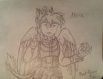 Alkira armored by BlackFlamePegasus