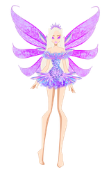 Crystallix Concept: Eleanor Crystallix by bloom914