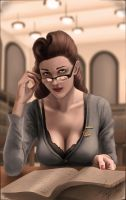 Librarian of the year 1946 (Your grandma was hot) by RedRussianDA