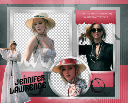 Png Pack 1018 // Jennifer Lawrence by confidentpngs