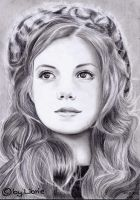 Georgie Henley by Librie