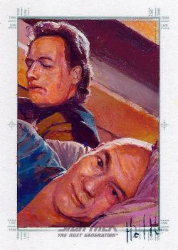 star trek tng 2 sketch card 16 by charles-hall