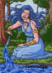 Elementals Sketch Card 3 by ElainePerna