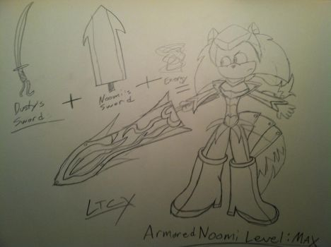 Noomi: Armor Level Max by Chalkluke4