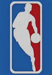 The Face of the NBA by bricksnoir