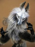 Silver Morgul Wolf Room Guardian by AnyaBoz