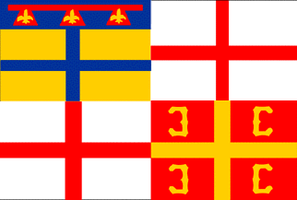 Flag of Emilia-Romagna based on political flags by hosmich