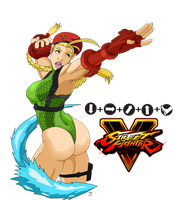 Street Fighter 5: Cammy White by SpongeDudeCoolPants