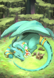 Afternoon Nap by Kameloh