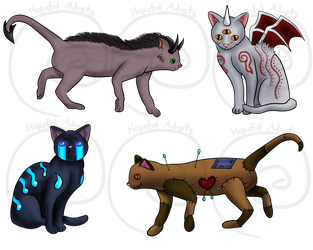 Cat Adopt AUCTION [CLOSED] by HopefulAdopts