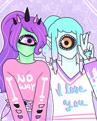 You're all I see by hello-planet-chan