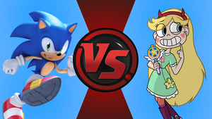CFC|Archie Sonic vs. Star Butterfly by Vex2001