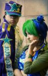 Jotaro And Jolyne by VictoriaRusso