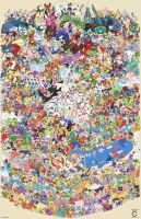 Pokemon Draw Em All (Gen 1 -7)