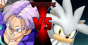 Death Battle: Trunks VS Silver the Hedgehog by StewieGriffin2