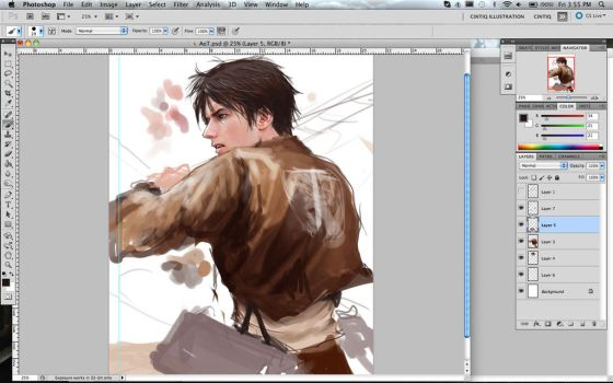 Eren WIP by Brilcrist
