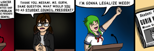 Dank Midori #7 - 'The Election' by TheCittiverse