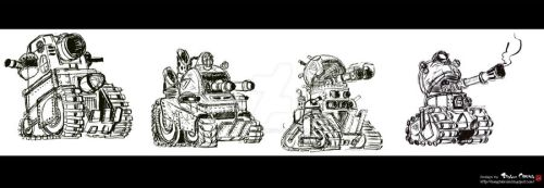 TANKS by schungLEE