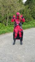 Lady Deadpool fully equipped! by DragonswordRyn